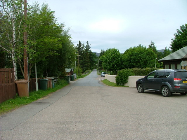 Station Road, Newtonmore