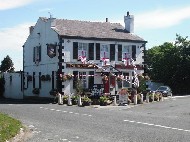 The Derby Arms in World Cup week