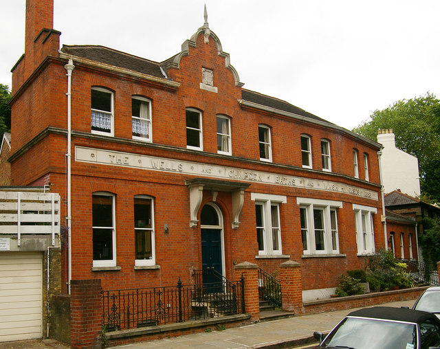 Former public baths and washhouse, Hampstead, London NW3