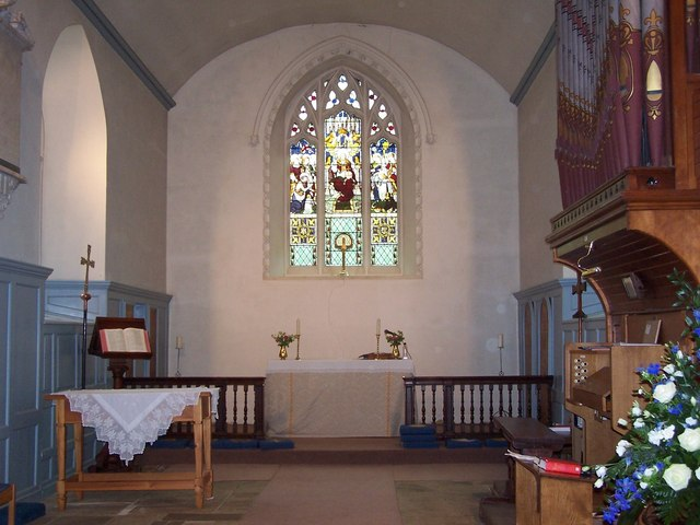St Andrew's Church, interior