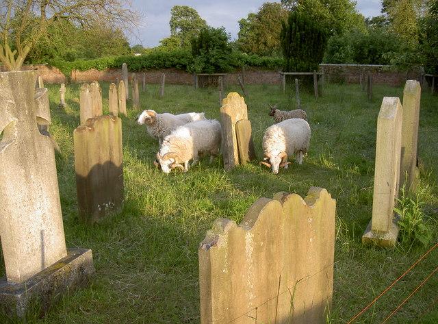 Raskelf church graveyard