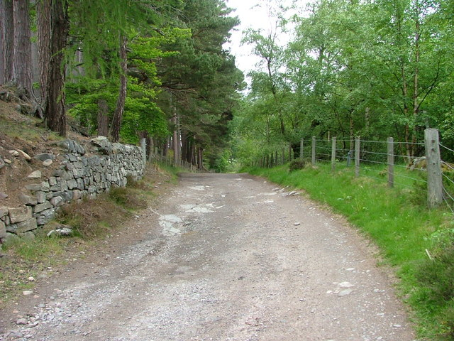 The road to Atholl