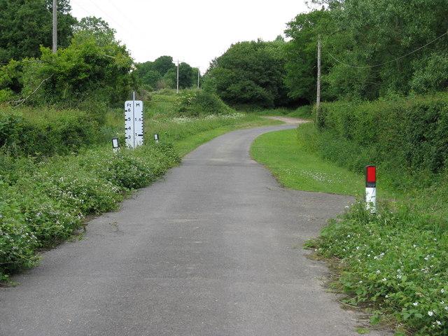 Former ford near Worth Farm