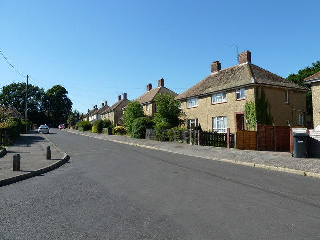 Houses in Bursledon Road
