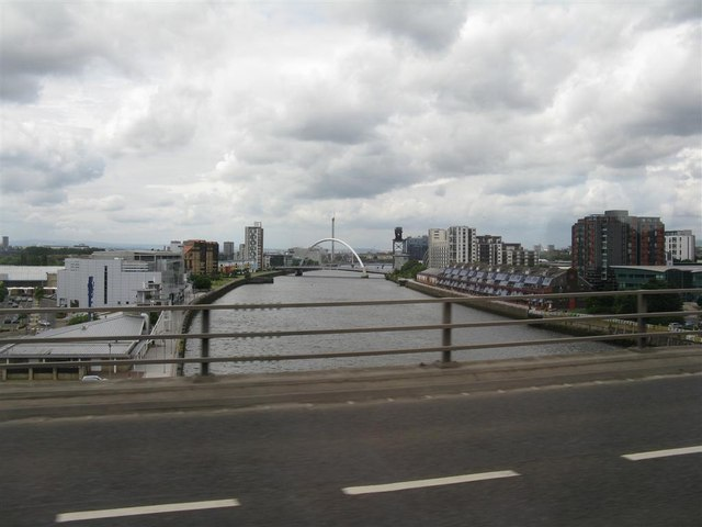 Looking west down the Clyde