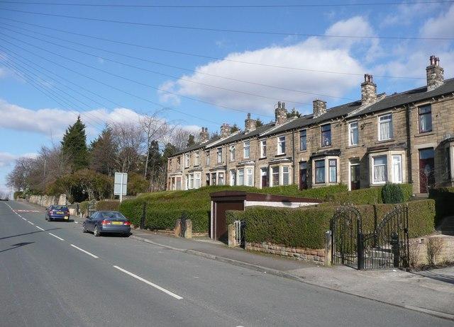 Terrace houses, Crackenedge Lane, Soothill