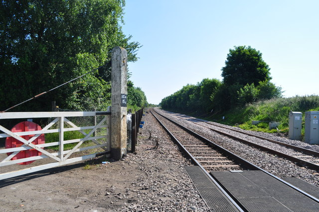 The Site of Spinks Lane Station