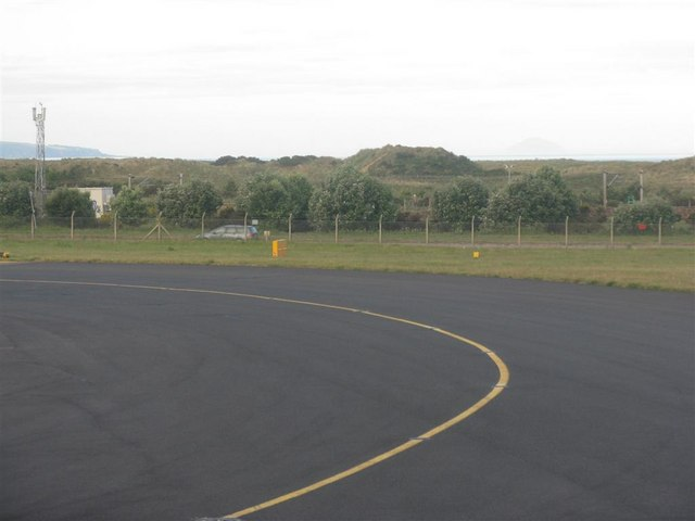 A view from the taxiway