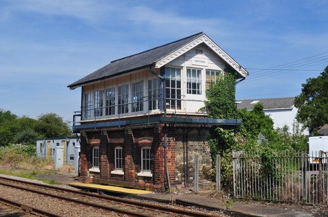 Thetford Signal Box