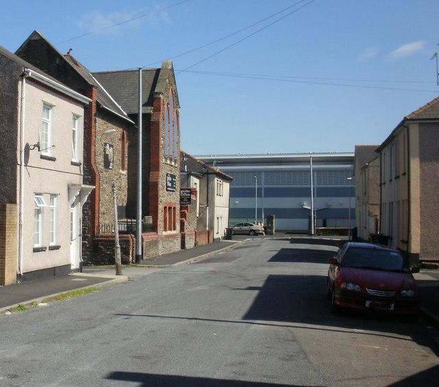 New Ruperra Street, Newport