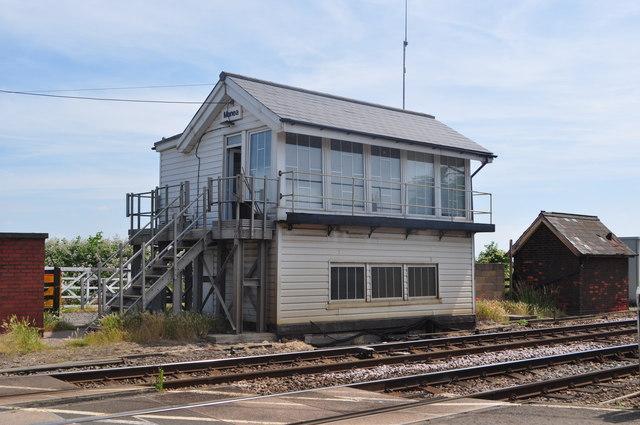 Manea Signal Box