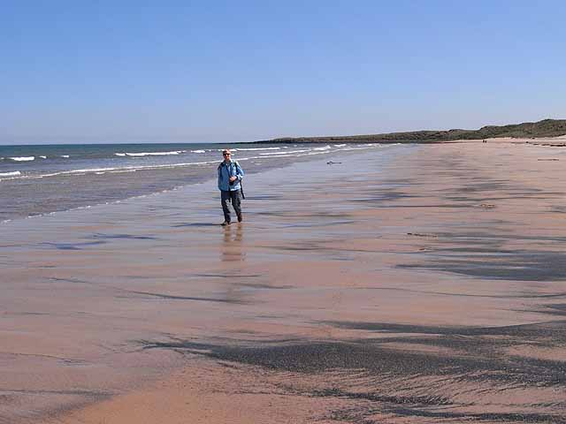 South end of Beadnell Bay