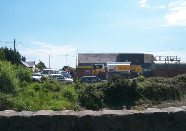 Shell UK Oil Distribution Depot, Glan-y-don, Pwllheli