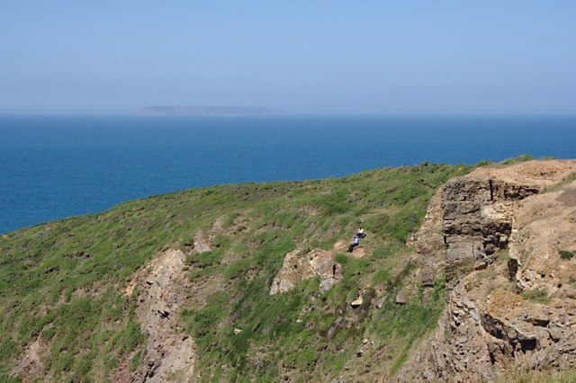 Blagdon Cliffside