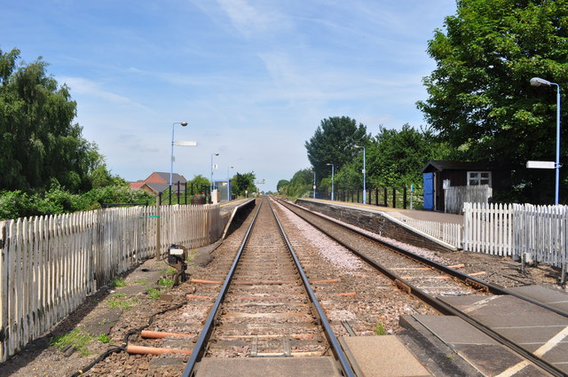 Manea Railway Station