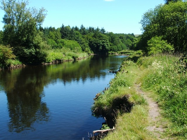 The River Leven at Dalquhurn Point