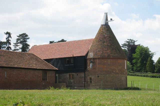 Oast House at Elm Hill Farm, High Street, Hawkhurst, Kent