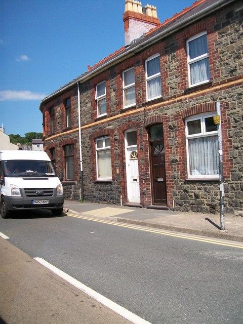 Houses on Y Traeth, Pwllheli