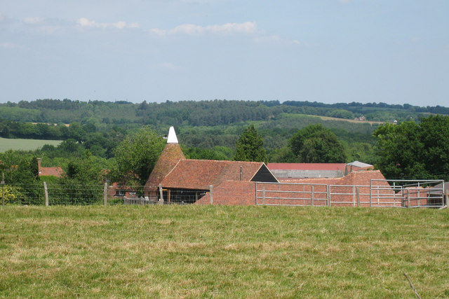 Oast House at Elm Hill Farm, High Street, Hawkhurst, Kent