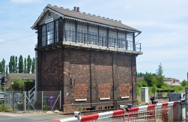 March East Signal Box