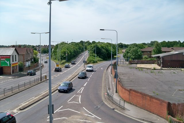 View of A32 at Fareham