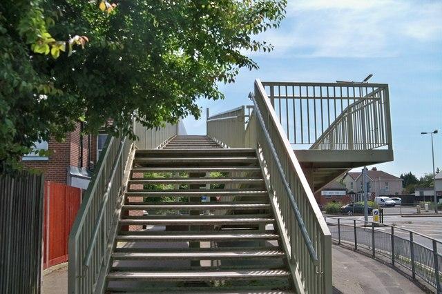 Footbridge - Fareham
