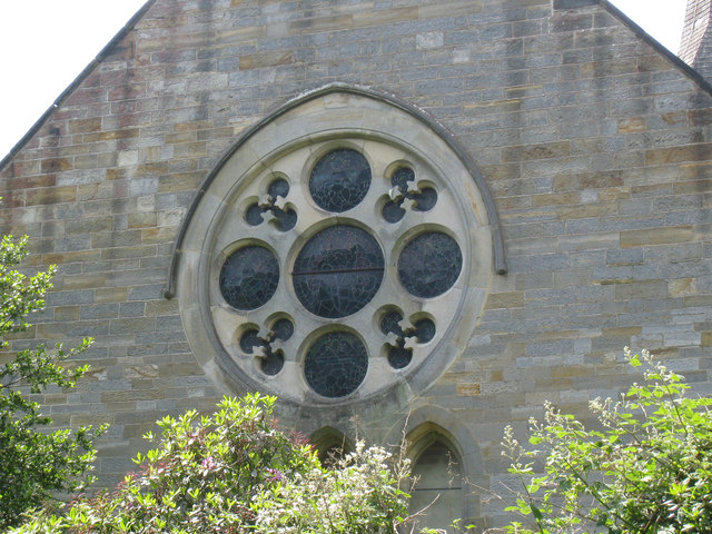 Window at St Augustine's of Canterbury's Church