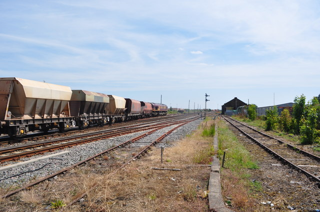 Freight Train at March