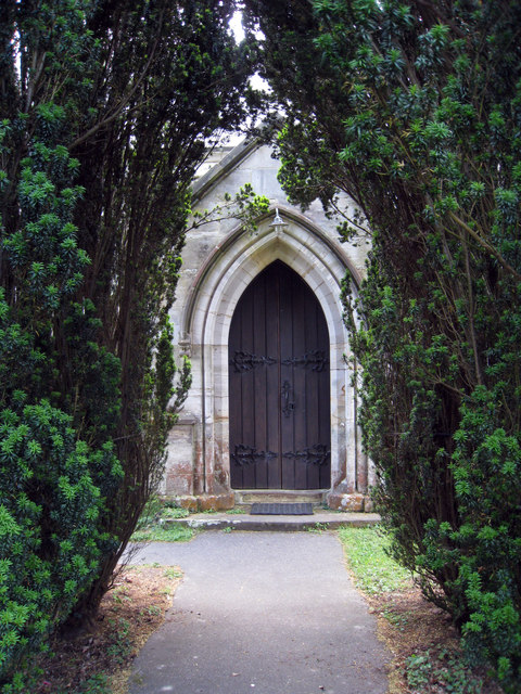 Entrance to St Augustine's of Canterbury's Church, Flimwell