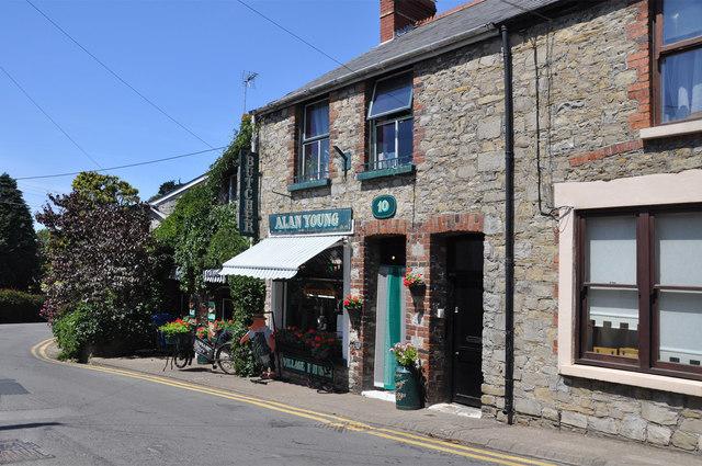The town butcher shop - Llantwit Major