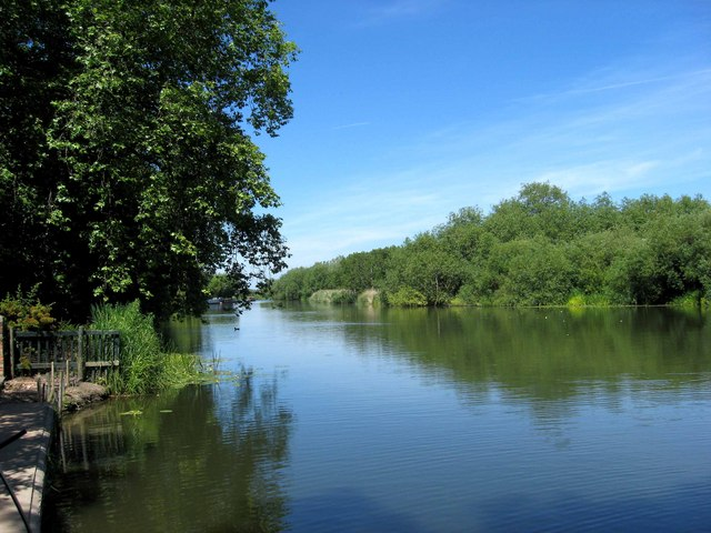 River Avon looking north