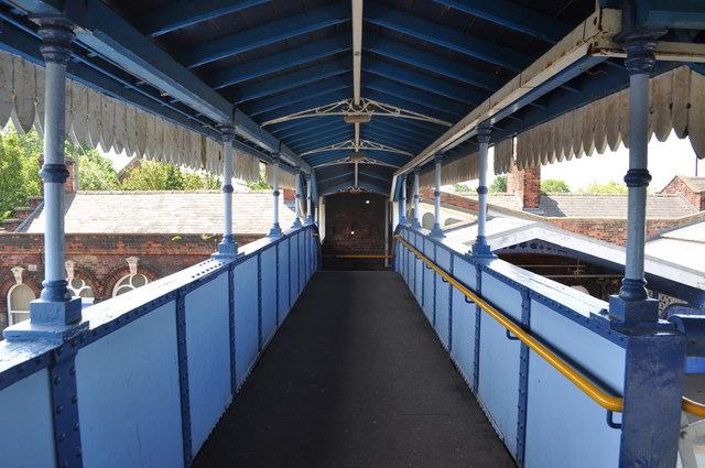Footbridge at March Station
