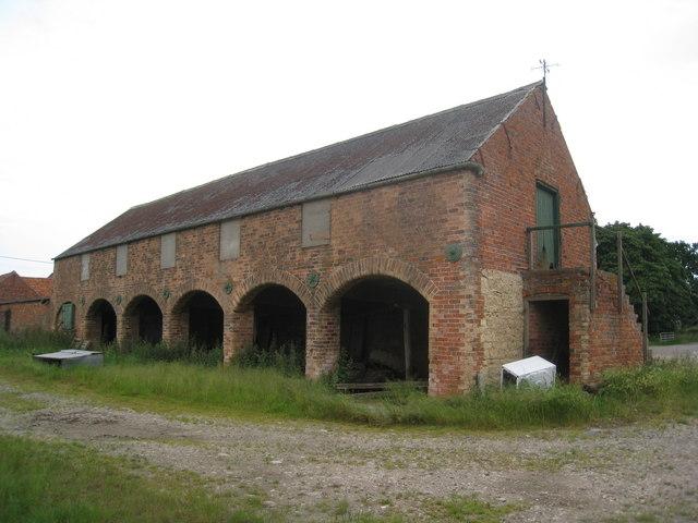 Farm buildings, Grange Farm