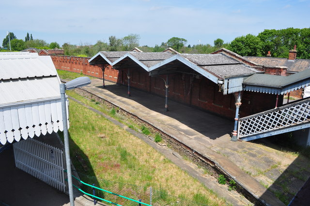 Disused Platforms at March