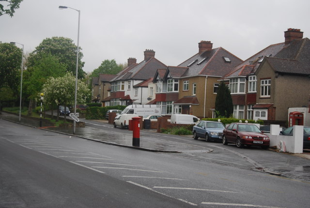 Postbox, Beulah Hill (A215)