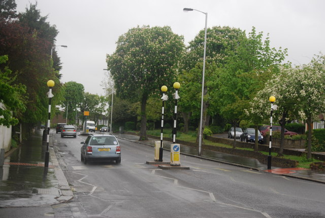 Zebra Crossing, Beulah Hill (A215)