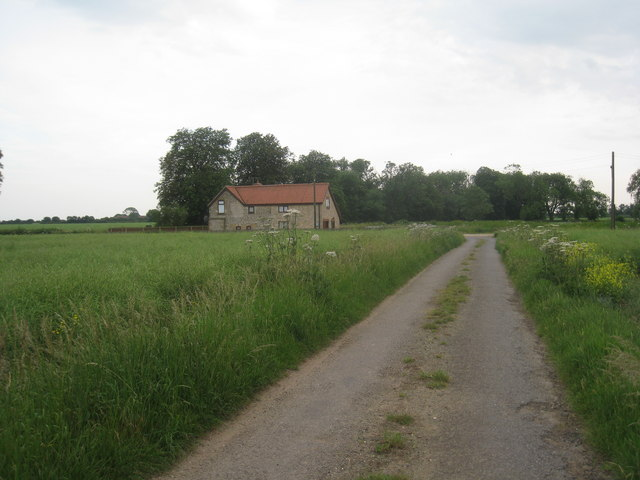 Extended farm cottage
