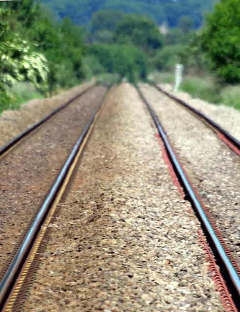 Railway Heat Haze