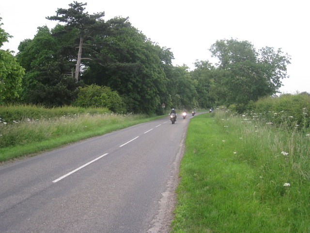 Bikes on the bend