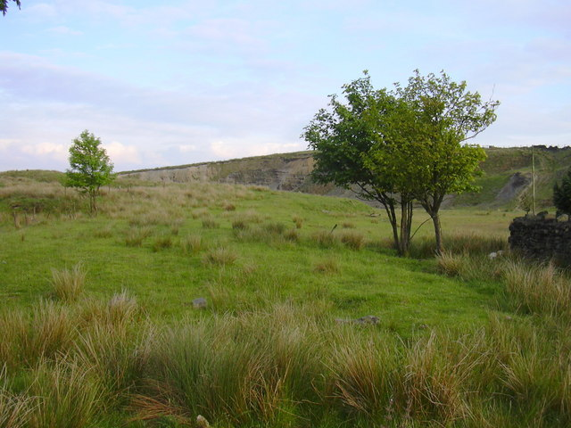 Tooter Hill Quarry, Sharneyford, Lancashire-Yorkshire Border