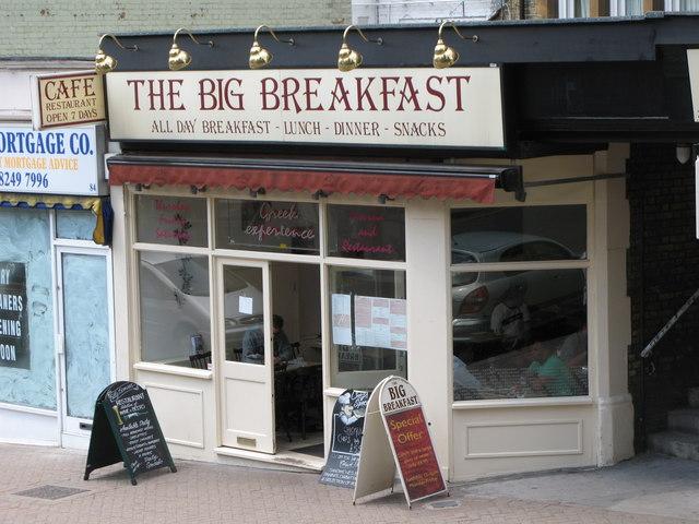 The Big Breakfast, High Street
