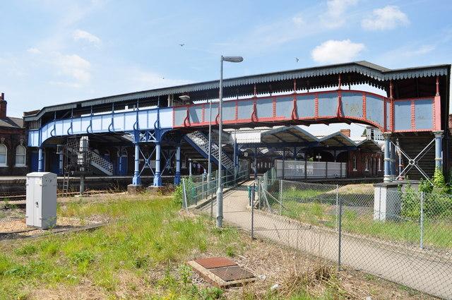 March Railway Footbridge