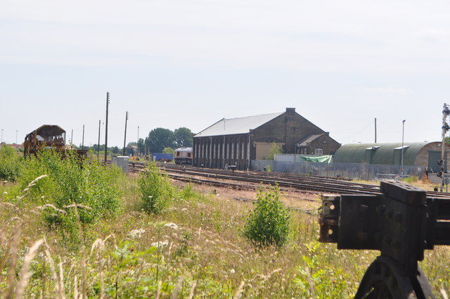 March Goods Shed/Engine Shed