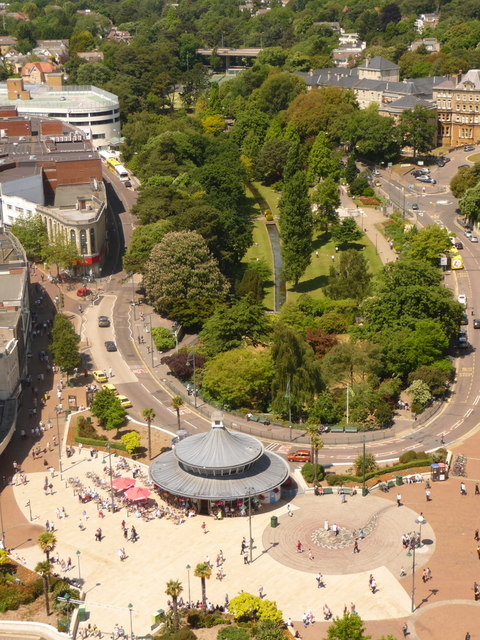 Bournemouth: The Square and Central Gardens
