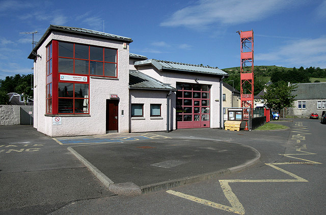 Langholm Fire Station