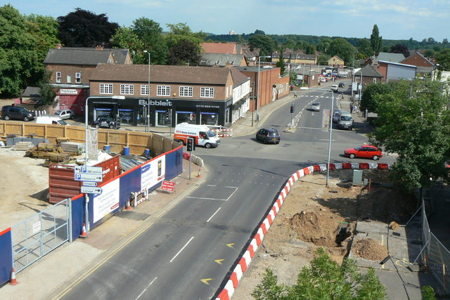 Station Road and Middle Street junction 21st June 2010
