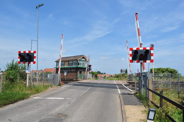 Level Crossing East of March