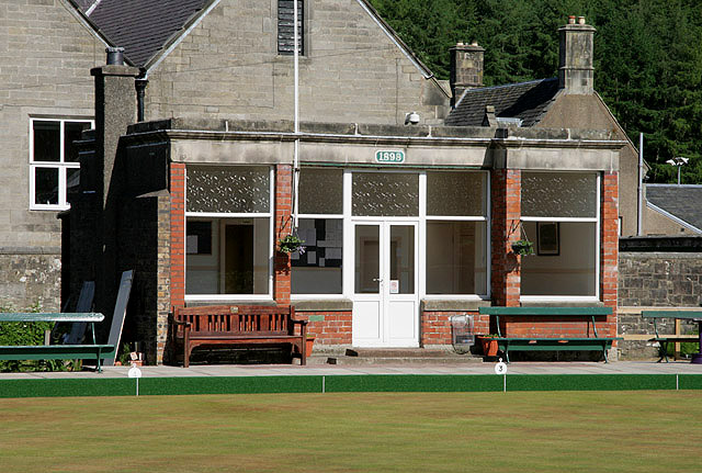 The clubhouse at Langholm Bowling Club