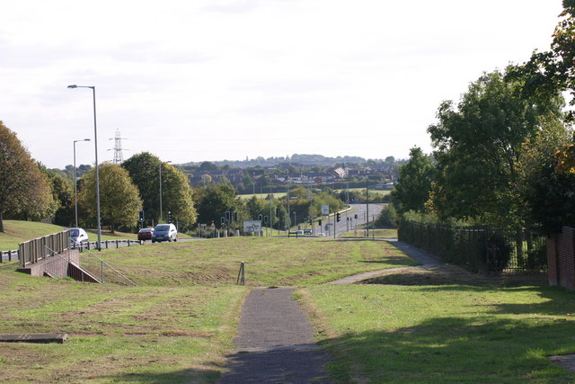 A path located along Marlborough Way  (1)