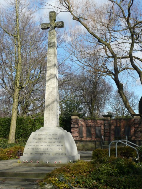Mirfield war memorial